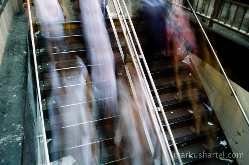 Subway Stairs Motion Study