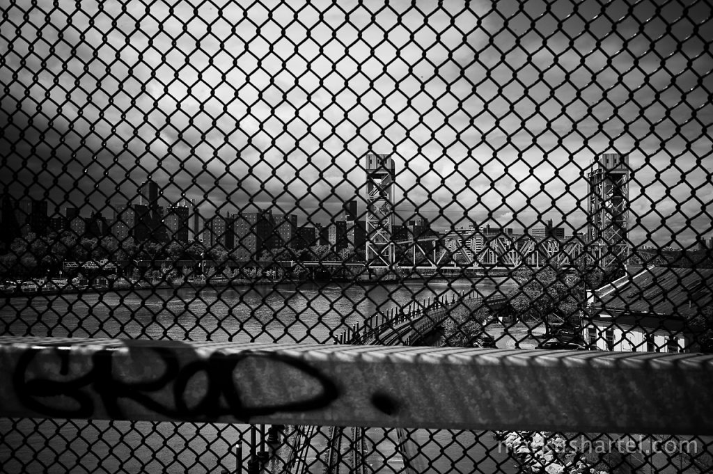 View to Manhattan from the Bronx